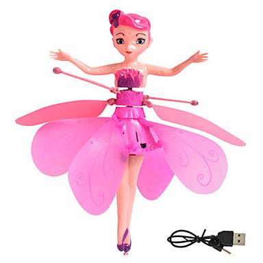 Недорогие Игрушки с подсветкой-махать крыльями феи электрический луг летать Форрест сказки игрушки