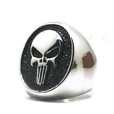 voordelige Herensieraden-Heren Ring 1pc Wit Legering Onregelmatig Vintage modieus Etnisch Dagelijks Sieraden Vintagestijl Kersen
