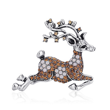voordelige Dames Sieraden-Dames Broches Broche Sieraden Goud Zilver Voor Kerstmis Dagelijks