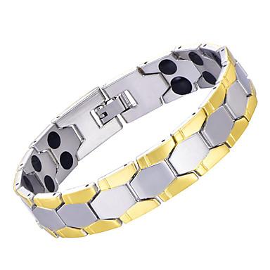 voordelige Herensieraden-Heren Oorbellen / armband Klassiek Lucky Luxe Klassiek Vintage modieus Modieus Koper Armband sieraden Zilver Voor Lahja Dagelijks Feestdagen Festival