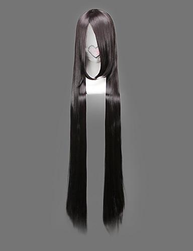 voordelige Cosplay Pruiken-One Piece Boa Hancock Cosplaypruiken Dames 48 inch(es) Hittebestendige vezel Zwart Anime