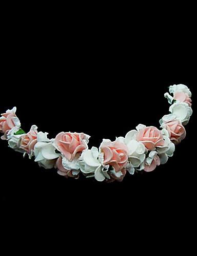 preiswerte Blumenmädchen-Damen Blumenmädchen Schaumstoff Kopfschmuck-Hochzeit Besondere Anlässe Blumen