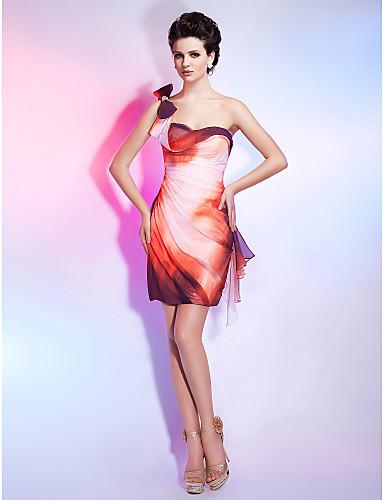 LIADAN - שמלת קוקטיל מ- שיפון