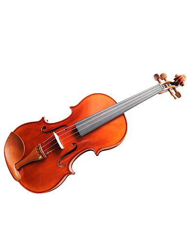 billige Strengeinstrumenter-violintine - (V33) 4/4 profesjonell solid gran fiolin med case / bue