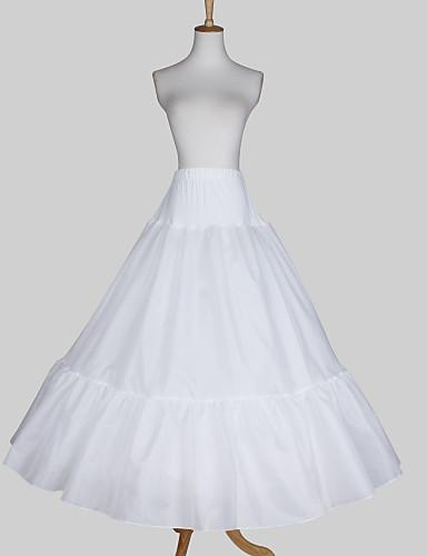 Wedding Special Occasion Slips Satin Taffeta Floor-length A-Line Slip Ball Gown Slip With