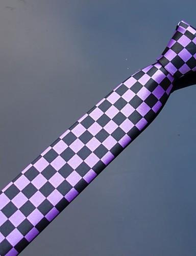 Men Vintage/Cute/Party/Casual Neck Tie , Polyester