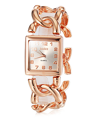 cheap Floral Watches-Women's Wrist Watch Japanese Stainless Steel Silver / Gold / Rose Gold Analog Ladies Vintage Fashion Elegant - Gold Silver Rose Gold