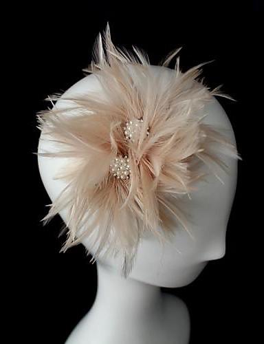 abordables Chapeau & coiffure-Cristal / Cuir / Tissu Diadèmes / Fascinators avec 1 Mariage / Occasion spéciale / Fête / Soirée Casque