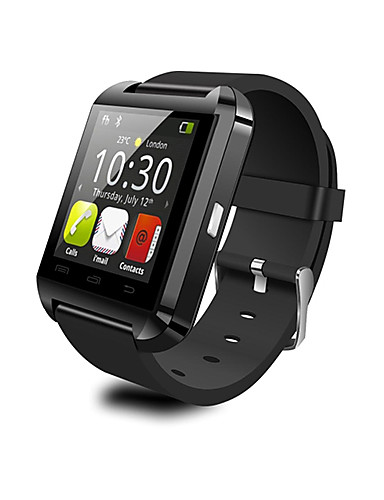 billige Insidervalg-u8 smart watch bt 4.0 billig fitness tracker støtte varsle kompatible samsung / sony android telefoner og eple