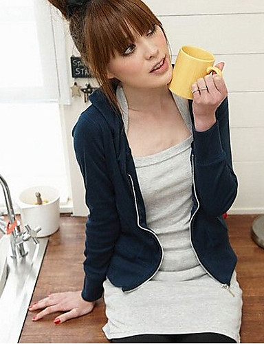 Damen Volltonfarbe T-shirt Reine Farbe