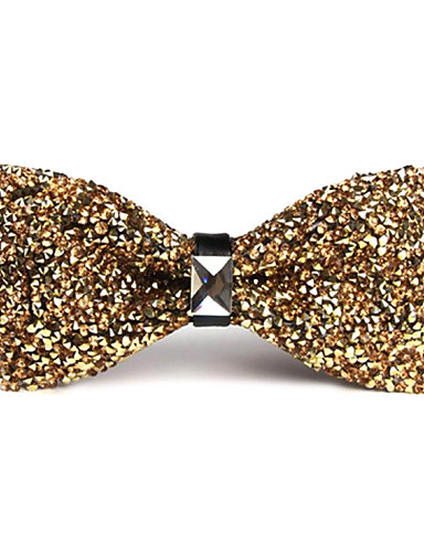 cheap Men's Ties & Bow Ties-Unisex Party / Work / Basic Bow Tie - Solid Colored