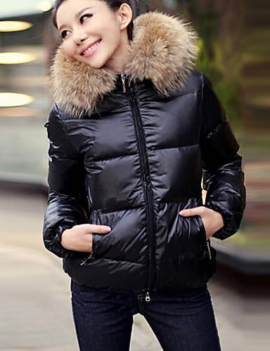 Női Alap Kabát Egyszínű