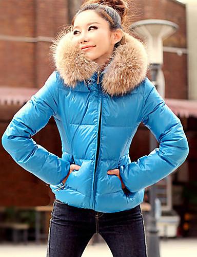 KaKaNi Women's European Fashion Long Sleeve Cotton Coat