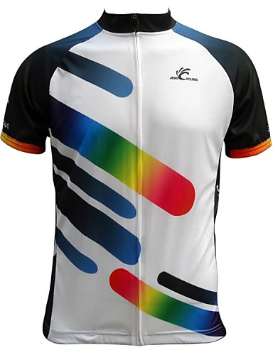 cheap Cycling Clothing-JESOCYCLING Men's Short Sleeve Cycling Jersey Bike Jersey, Quick Dry, Breathable / Stretchy
