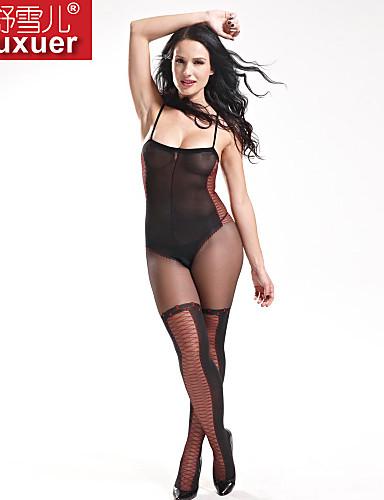 Shuxuer ® Women Nylon Ultra Sexy Overall Nightwear