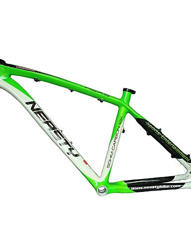 """billige sykkelens ramme-MTB Full Karbon Sykkel Ramme 26"""" Glanset 3K cm tommers"""