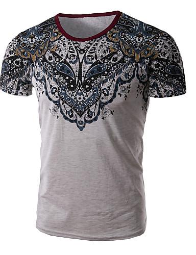 Tee-shirt Grandes Tailles Homme Imprimé