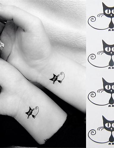 22a08a80b 1 pcs Αυτοκόλλητα Τατουάζ προσωρινή Τατουάζ Σειρά Άνιμαλ Mini Style /  Φιλικό προς το περιβάλλον Τέχνες σώμα τα χέρια / αστράγαλος / Τατουάζ  αυτοκόλλητο