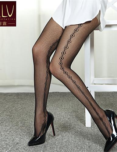 Kadın's İnce Fantezi Çoraplar-Jakarlı