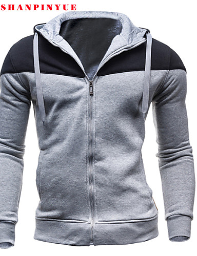 8fb708ac0c7e Men's Classic & Timeless Long Sleeve Hoodie - Solid Colored Formal Style  Screen Color L