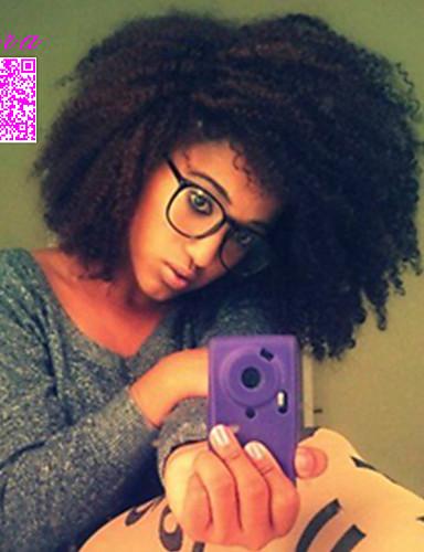 abordables Perruques Naturelles Dentelle-Perruque Cheveux Naturel humain Full Lace Sans Colle Full Lace Cheveux Brésiliens Afro Kinky Curly Femme Densité 120% avec des cheveux de bébé Ligne de Cheveux Naturelle Perruque afro-américaine 100