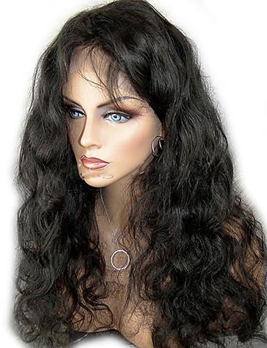 billige Blondeparykker med menneskehår-Ekte hår Ubehandlet Menneskehår Helblonder uten lim Halvblonder uten lim Helblonde Parykk stil Brasiliansk hår Krop Bølge Parykk 130% 150% Hair Tetthet med baby hår Naturlig hårlinje Afroamerikansk