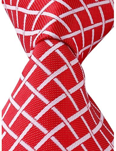 Boyun Bağı Uniseks,Polyester Vintage / Sevimli / Parti / İş / Günlük Ekoseli