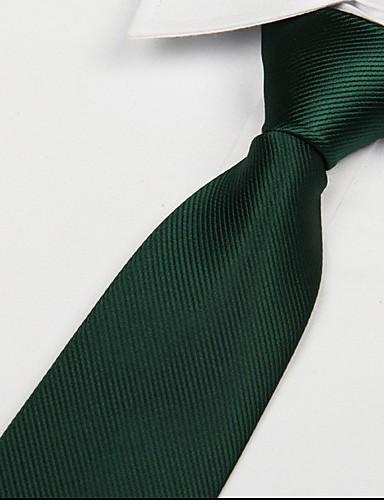 Dark Green Adult Leisure Twill Tie Jacquard Arrow Necktie