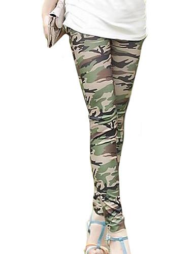 Dames Polyester Spandex Legging One Size is passend voor S en M, zie de maattabel hieronder.