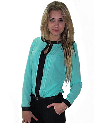 Γυναικεία Μπλούζα Patchwork Νάιλον