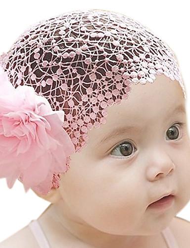 povoljno Najprodavanije-Dijete koje je tek prohodalo Djevojčice Cvjetni print Ukrasi za kosu Obala / Crvena / Pink One-Size / Trake za kosu