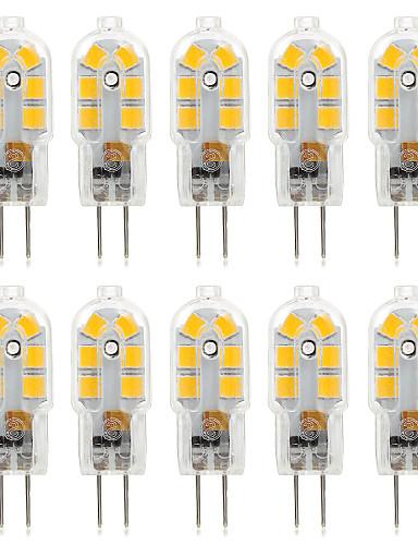 Χαμηλού Κόστους Πώληση-ywxlight® 10pcs 2.5w 250lm g4 14λεπτη 2835smd οδηγημένα φώτα bi-pin ζεστό λευκό κρύο λευκό φυσικό λευκό λαμπτήρα ac 220-240 dc 12 v