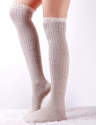 Srednje Žene Samostojeće čarape,Pamuk