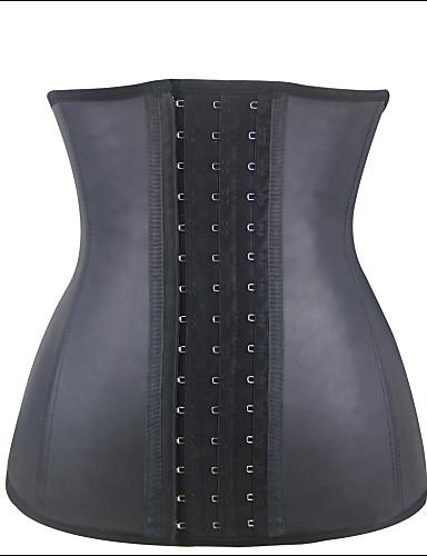 Women's Hook & Eye Plus Size Underbust Corset-Solid