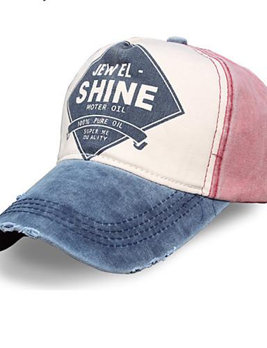 billige Tilbehør-Hatt til turbruk Hatt Beskyttende Vår Sommer Høst 4# Herre Dame Unisex Trening & Fitness Baseball / Bomull