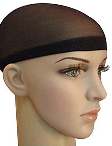 ราคาถูก Beauty & Hair-Wig Accessories วัสดุผสม หมวกวิก Braiding Beads 2 pcs ทุกวัน คลาสสิก สีดำ สีน้ำตาล