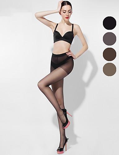 BONAS® Damen Einheitliche Farbe Dünn Legging-B16594