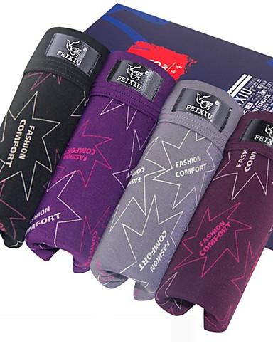 SHINO® Katoen / Bamboekoolstof Boxer shorts 4 / doos-F057