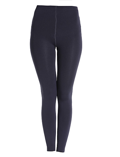 Mujer Un Color Legging - Un Color Media cintura