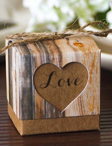 12 Stück / Set Gunst Halter - kreative Karte Papier gefallen Boxen nicht-personalisierte Beter Geschenke Hochzeit Dekorationen