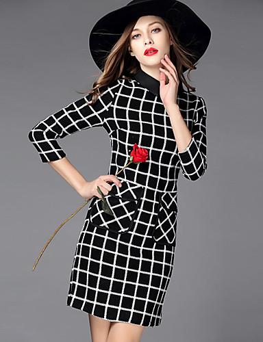 Women's Daily Vintage Sheath Dress