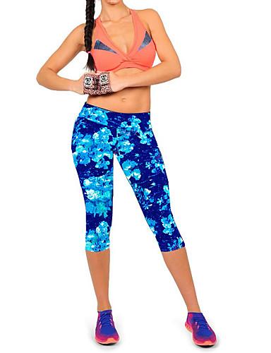 Mulheres Activo Moda de Rua Micro-Elástica Jeans Calças, Poliéster Elastano Verão