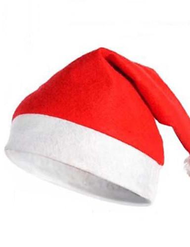 voordelige Kerst Kostuums-Hoeden Santa Clothe Heren Dames Volwassenen Kerstmis Halloween Festival / Feestdagen Polyesteri Outfits