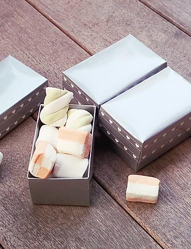 立方体 カード用紙 好意のホルダー とともに ラッピングボックス / ギフトボックス / ラッピングバッグ / ギフトバッグ / キャンディ缶 / ギフトバケツ - 6