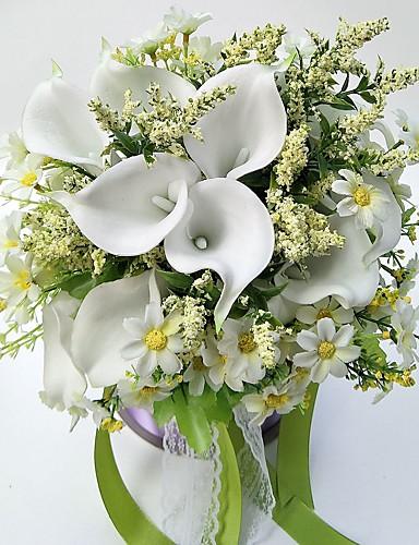 Bouquets de Noiva Buquês Casamento / Festa / Noite Cetim 11.02