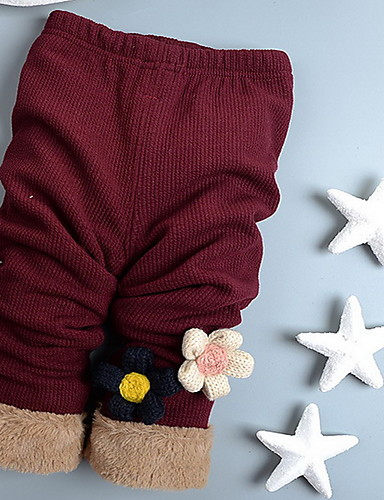 Mädchen Hose Lässig/Alltäglich einfarbig Baumwolle Winter