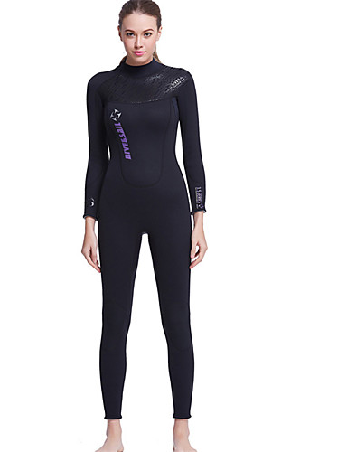 5f489b386f6 Dive Sail Women s Full Wetsuit 3mm Neoprene Diving Suit Waterproof Thermal    Warm Breathable Long Sleeve Back Zip - Swimming Diving Surfing Spring  Summer ...
