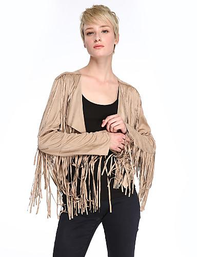 Women Faux Leather Top Short Jacket