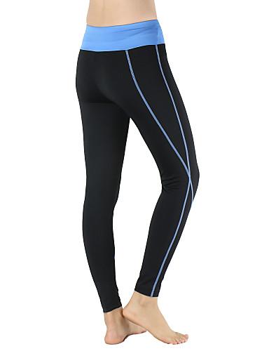 aead61cfd51 Arsuxeo Women s Compression Pants Running Tights Gym Leggings Black   Blue  Black   Pink Sports Slim Elastane Compression Clothing Tights Leggings Yoga  ...