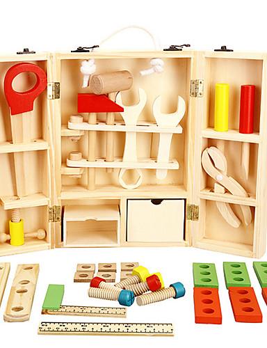 voordelige Speelgoedgereedschap-Gereedschapskisten Speelgoedgereedschap Simulatie Veiligheid Puinen Jongens Kinderen Geschenk